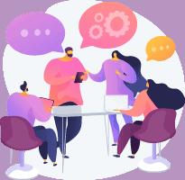 Group talk